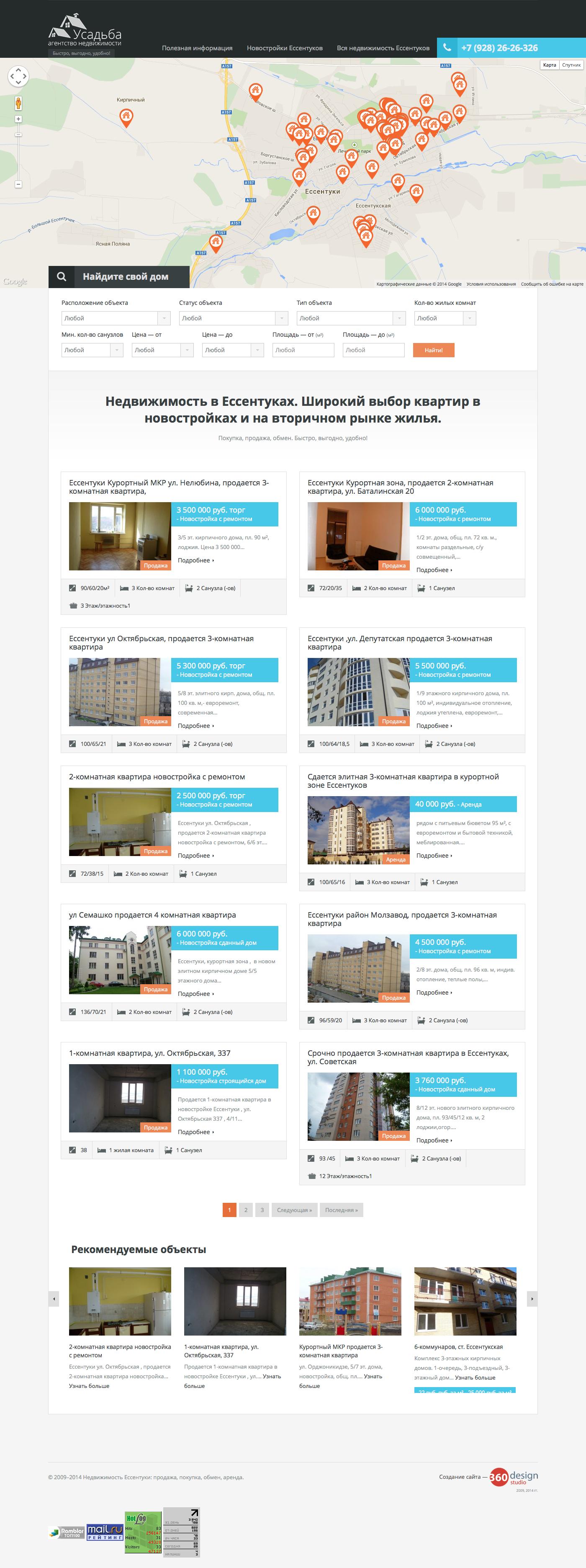 Создание сайтов в Пятигорске. Студия дизайна «360», Пятигорск ... 81bd0cc34dc