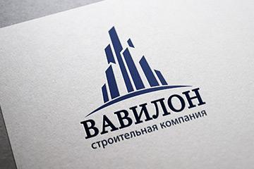 Логотип строительной компании «Вавилон»